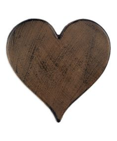 Take a look at this Cast Iron Heart Stepping Stone by Sunset Vista Design Co., Inc. on #zulily today!