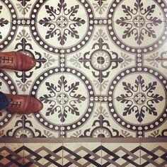pattern, mosaic tile, photo: Rosa Pomar