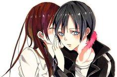 Hiyori and Yato