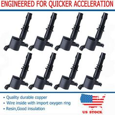 OEM Quality Ignition Coil 2PCS Pack for 07-16 Mini Cooper// Cooper Countryman 1.6