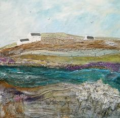 'Across the brook'  by Louise O'Hara https://www.facebook.com/DrawntoStitch