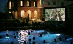 Groupon - 14- or 23-Foot Movie-Screen Rental with Setup and Breakdown Included from Geaux Movies (Half Off) in On Location. Groupon deal price: $175