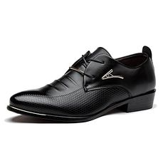 e5738ddddff Blivener Men s Pointed Toe Classic Oxford Formal Business Dress Shoes Black  US 9. Wedding Ideas