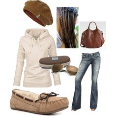 """""""Comfy and cozy"""" by emalbe on Polyvore"""