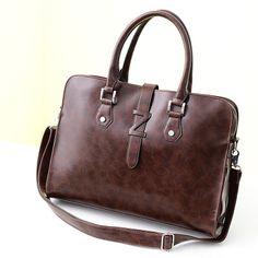 新款女式手提单肩斜挎公文包包 纯色字母式女士专用包 厂家直销