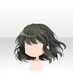 li.nu attrade itemsearch.php?txtSearch=&part=&page=21&type=&color=&sort=&mov=0&locked=0 Anime Girl Hairstyles, 2015 Hairstyles, Medium Hair Braids, Medium Hair Styles, Chibi Hair, Pelo Anime, Manga Hair, Hair Sketch, Fantasy Hair