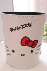 Hello Kitty Leather Trash - Hello Kitty Stores