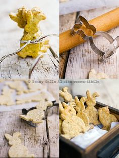 Hazelnut Bunny Crackers; this would also be fun with different cookie cutters for different seasons- maybe some fall leaves??