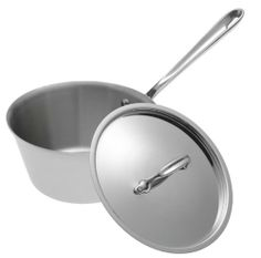 All-Clad Stainless 2-1/2-Quart Windsor Pan with Lid by All-Clad. $149.95. Lifetime warranty against defects. Dishwasher safe, but hand washing recommended. Comfortable lid and stay-cool pan handles riveted for strength. 2-1/2-quart pan's flared sides make whisking sauce easy. Three-ply: stainless-steel layers sandwich pure aluminum core for even heating. Amazon.com                The bestseller among All-Clad's renowned cookware collections,  the Stainless line provides se...