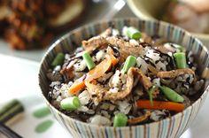 煮ヒジキ入り混ぜご飯のレシピ
