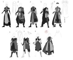 Bard on Behance Cartoon Outfits, Anime Outfits, Character Inspiration, Character Design, Clothing Sketches, Fashion Design Drawings, Fantasy Dress, Drawing Clothes, Art Reference Poses
