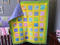 This is a fun quilt I made for Amber, my grand-daughter!