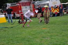 Firefighter muster, family friendly, camping, Danforth Bay, White Mountains, New Hampshire
