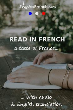 Here's a collection of French texts for you to start reading in French. Read in French on a regular basis and you'll make tremendous progress! Read In French, How To Speak French, French Language Learning, Learn A New Language, Learning French, French Sentences, Learn French Online, Spanish Humor, Funny Spanish
