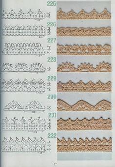 z262 esquemas crochet - María María - Álbuns da web do Picasa