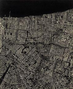 Victoria Burge - New Orleans, 2010  Photopolymer Intaglio  14.5 x 18 inches