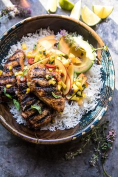 20 Minute Grilled Jerk Chicken