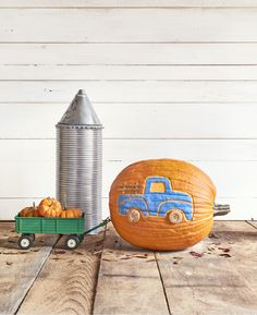 Pickup Truck Pumpkin