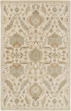 Elegance, sophistication, and grace are just a few words that define the radiant rugs found within the flawless Caesar collection by Surya. Hand Tufted in 100% wool, the timelessness found within each of these perfect pieces embodies a classic charm...