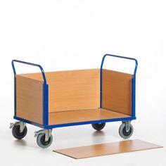 GTARDO.DE:  Vierwandwagen, Tragkraft 600 kg, Ladefläche 1200x770 mm, Maße 1370x800 mm 298,00 €
