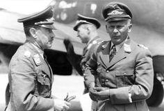 Generäle Löhr und W. v. Richthofen