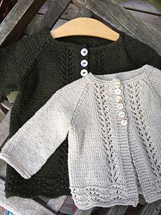 Ravelry: Old Shale cardi for big girls pattern by Anne B Hanssen Free Childrens Knitting Patterns, Baby Cardigan Knitting Pattern Free, Knitted Baby Cardigan, Baby Hats Knitting, Knitting For Kids, Cardigan Pattern, Knitting Designs, Baby Patterns, Free Knitting