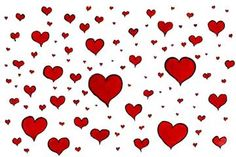 Lluvia de corazoness