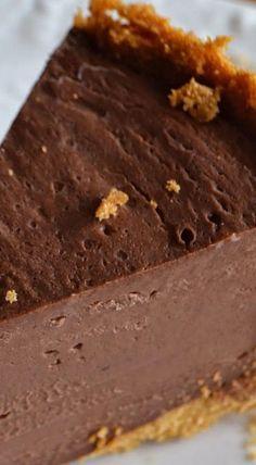 Pressure Cooker Chocolate Cheesecake.