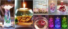 Aprende la técnica para hacer tallado de velas decorativas ~ Manoslindas.com Voss Bottle, Water Bottle, Homemade Candles, Candle Making, Mason Jars, Glass Vase, Baby Shower, Table Decorations, Canning