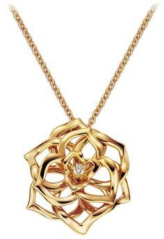 Rose gold Diamond Pendant - Piaget Luxury Jewelry Online