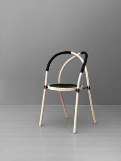 bow chair                                                                                                                                                                                 Más #ChairDesign