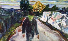 """""""Edvard Munch - The Murderer, 1910. """""""