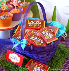 "Photo 17 of 26: Willy Wonka and the Chocolate Factory / Birthday ""Willy Wonka Inspired 7th Birthday Party"" 
