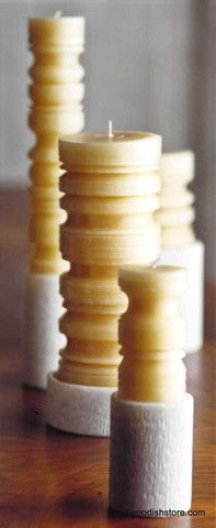 Roost Groove Beeswax Candles