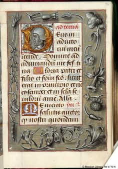 Book of Hours, M.33 fol. 96r - Images from Medieval and Renaissance Manuscripts - The Morgan Library & Museum