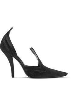 Roger Vivier Woman Satin-trimmed Calf Hair Pumps Colorless - No Size 39 smNvA