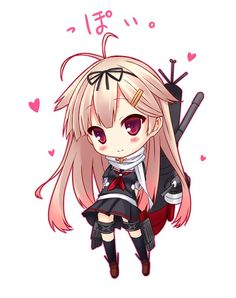 Anime chibi || anime girl