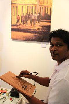 Meet Achchu, our resident artist.