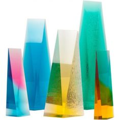 Norman Mercer Acrylic Sculptures