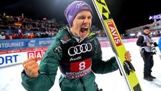 Andreas Wellinger will in Pyeongchang wieder jubeln – am liebsten über Gold Pyeongchang, Olympia, Andreas Wellinger, Ski Jumping, Star Wars, Sport, Skiing, Audi, Germany
