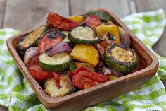 Honey-Balsamic and Rosemary Roasted Vegetables | Trim Down Club