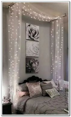 ways dream rooms for teens bedrooms small spaces 1 « Home Design Bedroom Decor Lights, Room Decor Bedroom, Bedroom Ideas, Bedroom Lighting, Bed Room, Romantic Bedroom Decor, Child's Room, Dream Rooms, Dream Bedroom
