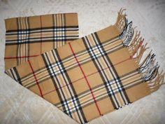 Mens Womens CROFT & BARROW Beige Nova Check Plaid Scarf SOFT Made in Germany #CroftBarrow #Scarf