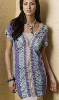 Mandalay Vertical Stripe Tunic...This whole site has so many good free patterns for regular and plus sizes.