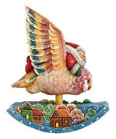 Look at this #zulilyfind! Santa on Owl Ornament by G.DeBrekht #zulilyfinds