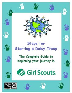 daisy girl scouts BECOME A LEADER BOOK from Silver Sage Council - fantastic resource for new leaders!