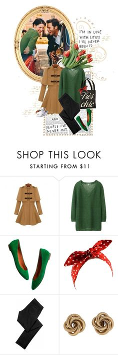 """""""Love & Laughter"""" by a-string-of-pearls ❤ liked on Polyvore featuring Vanity Fair, INC International Concepts, Lara, Uniqlo, Madewell, Siwy and Givenchy"""