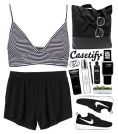 """Casetify.com { Get $10 USD off }"" by sarahkatewest ❤ liked on Polyvore featuring Pull&Bear, Monki, Casetify, NIKE, Byredo, Givenchy and H&M"