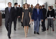 Queen Letizia of Spain attends a congress on rare diseases on April 21, 2016 in Bilbao, Spain.The congress has discussed how to improve the schooling of kids affected by these patologies.