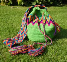Original Wayuu Mochila bag large by FlameJewels on Etsy, $99.00